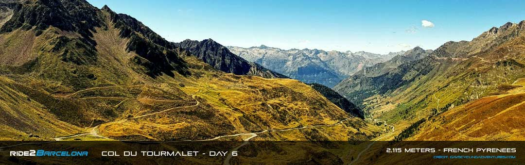 Col du Tourmalet - ride2barcelona Day 6