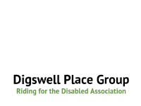 Digswell Place Group