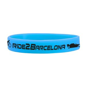 ride2barcelona Silicon Wristband